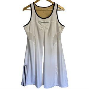Athleta Smash Tennis/Running Dress in White Sz XL